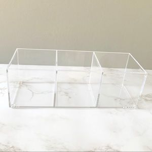 Other - 3 Cube Clear Organizer